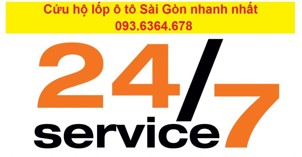 Cứu hộ lốp ô tô Sài Gòn nhanh nhất